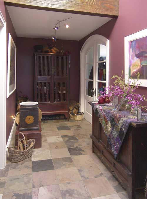 Hallway With Credenza